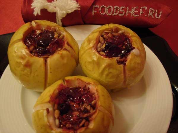 запекаем яблоки в духовке рецепты