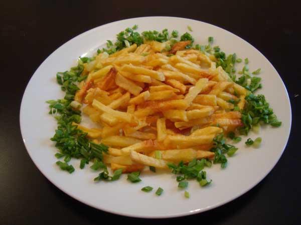 порционный картофель