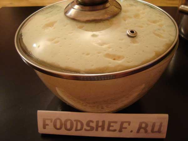 Рецепт теста для пирожков из кефира с