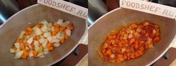 морковь с луком в томате