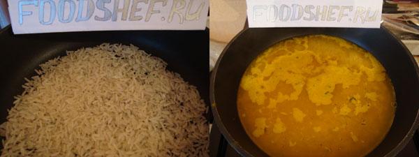 Рис жаренный