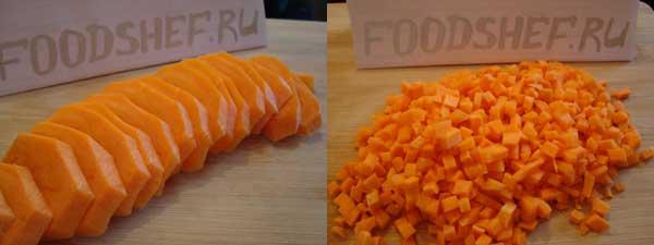 Морковь кольцами