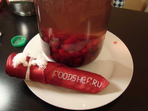 вишневая наливка рецепт