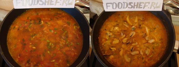 Рис с пассироваными овощами