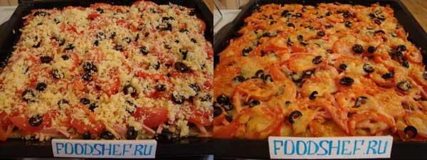 простой рецепт пиццы