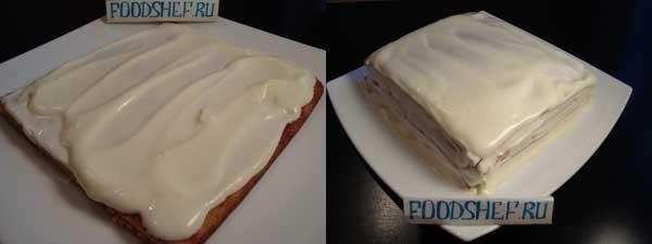 пирог сметанник рецепт