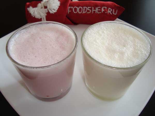 классический молочный коктейль простой и вкусный рецепт