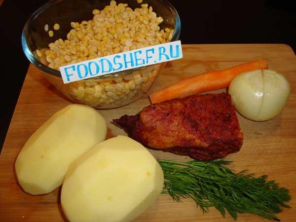 рецепт горохового супа с ребрышками для мультиварки