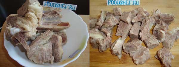 разделываем мясо