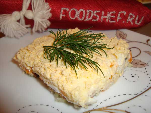 салат мимоза классический рецепт