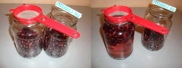 как закатать компот из смородины