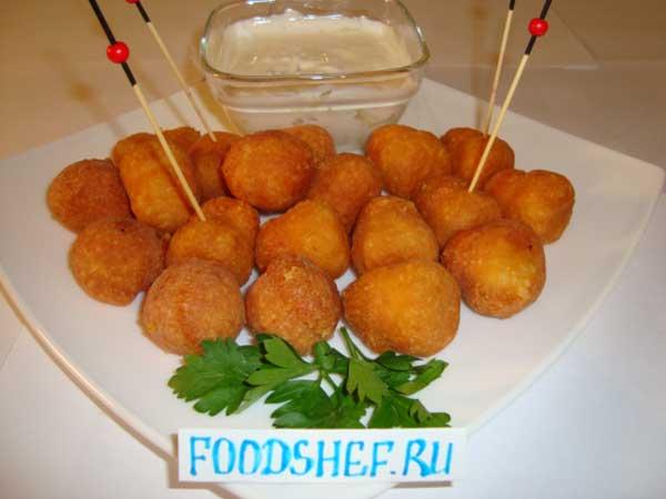 Сырные шарики, пошаговый рецепт с фото – Новогодние ...