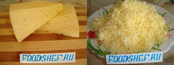 Сыр натертый
