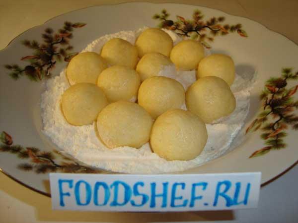 Сырные шарики в домашних условиях