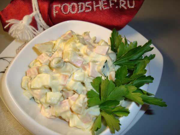 оливье рецепт с фото