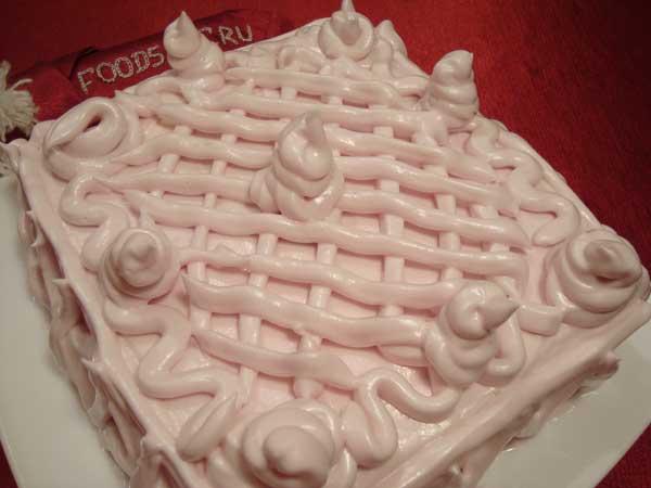 Сметанник торт