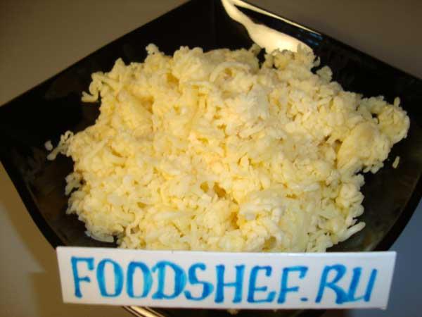 натёртый сыр