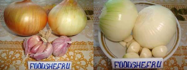 чистим овощи