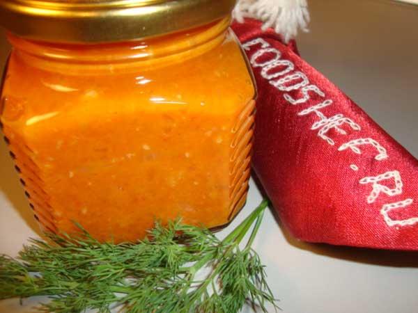 кетчуп на зиму