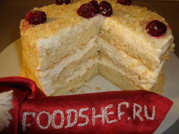 Рецепт очень вкусного торта в домашних условиях 336