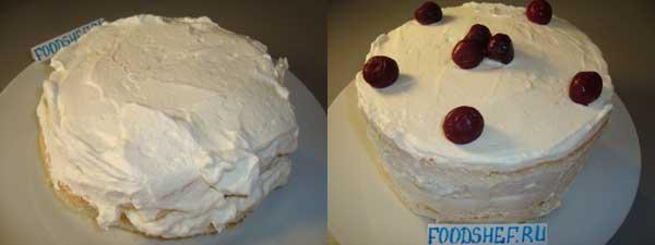 собираем торт