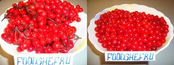 мытые ягоды