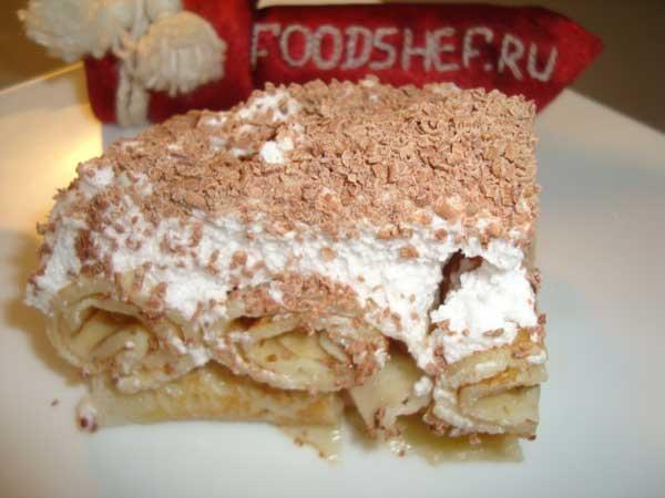 блинный торт рецепт в домашних условиях