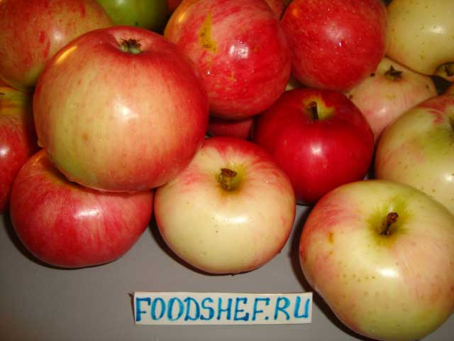 Яблоки мельба