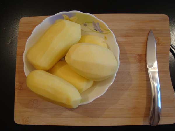 Картофель чищенный