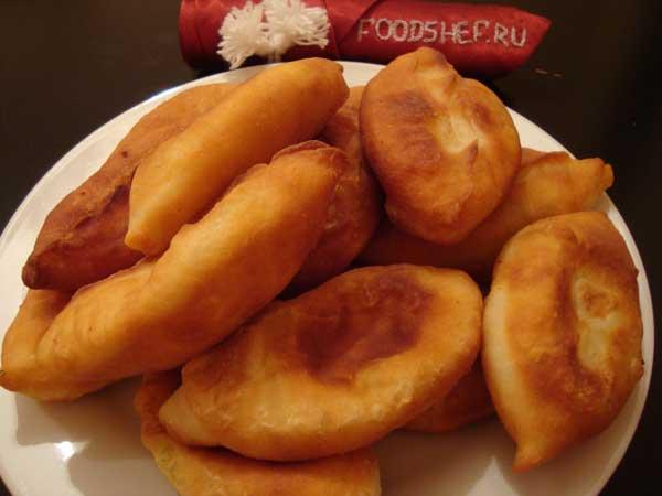 пирожки с картофелем жареные