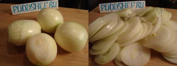 как замариновать лук для селедки