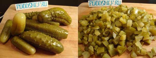 зимний салат рецепт классический