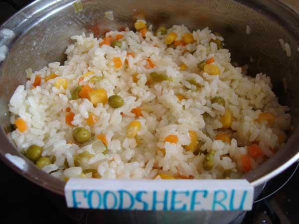 готовый рис