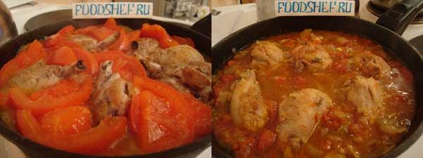 рецепт приготовления чахохбили из курицы
