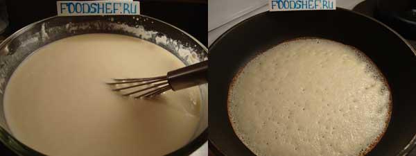 рецепт блинов тонких на молоке