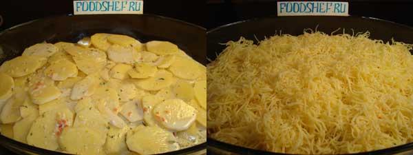 картошка по французски в духовке