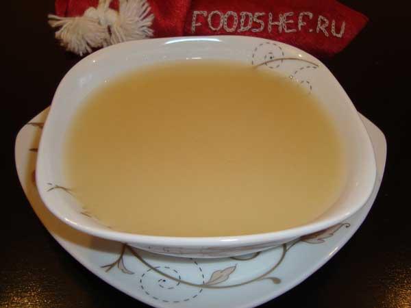рыбный суп в блендере