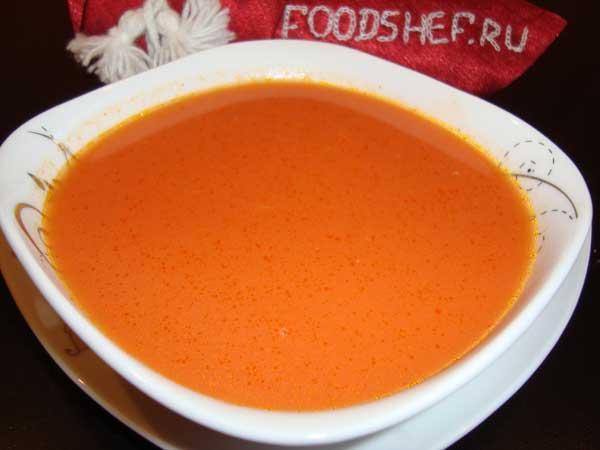 свекольный суп в блендере