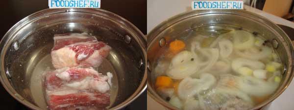как приготовить бешбармак