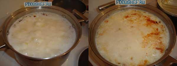 суп с плавленным сыром рецепт