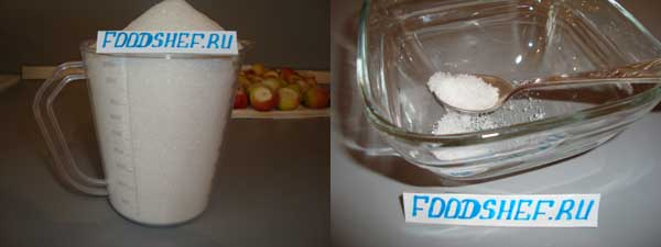 Лимонная кислота, сахар