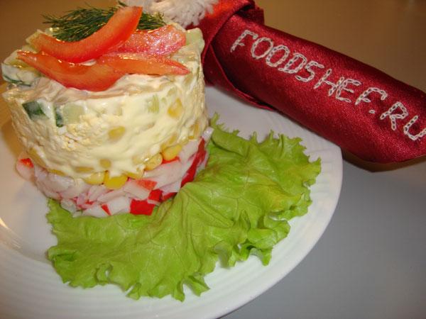 салат крабовый рецепт