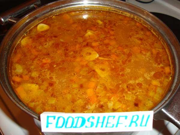готовый суп харчо
