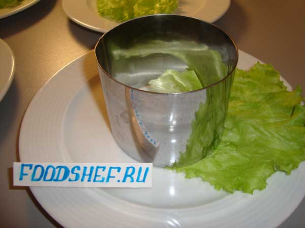 форма для салата