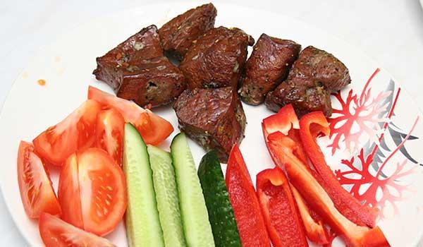 блюда из печени говяжьей