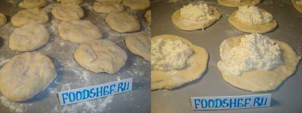 формируем пирожки