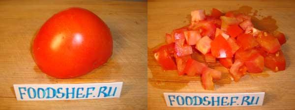 помидор кубиком