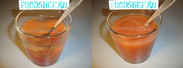 томатная заправка