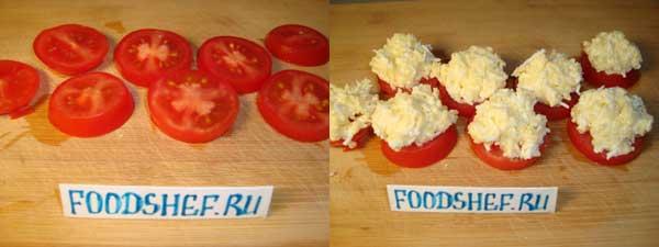 оформляем помидоры