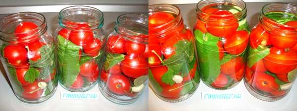 складываем помидоры
